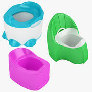 Baby Toilet Collection 01 3d model