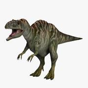 Акрокантозавр Новый 3d model