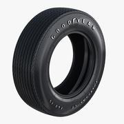 Goodyear Polyglas Tire 3d model