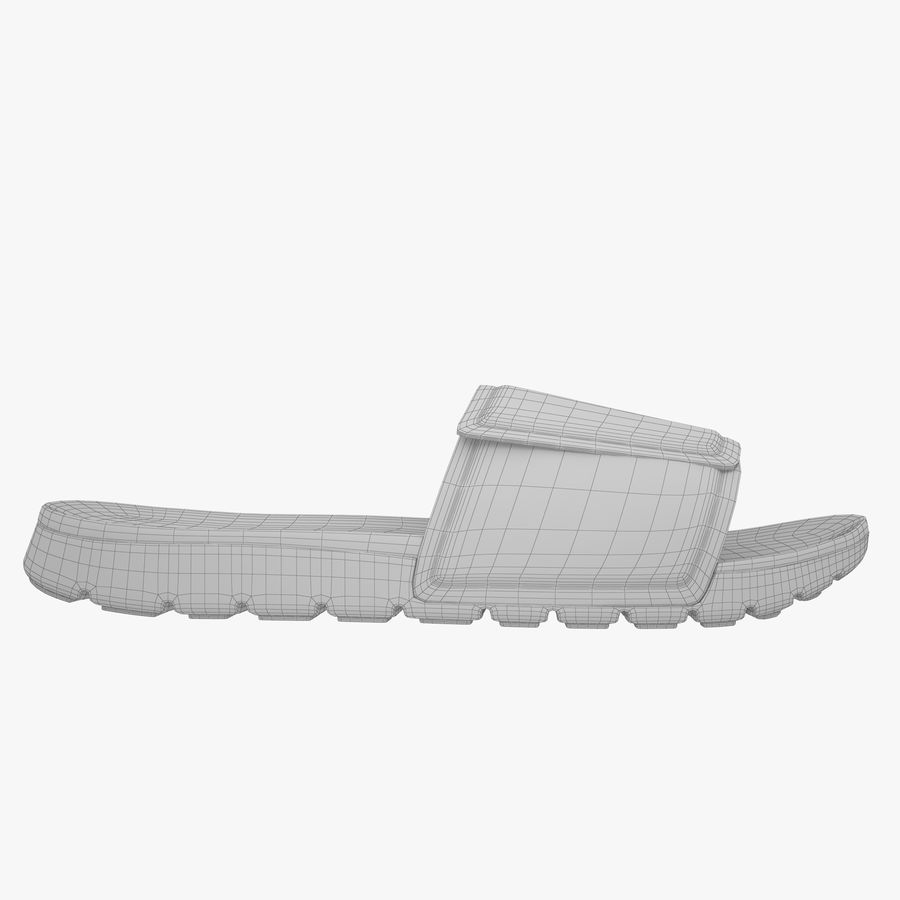 Nike Hurley Slide Flip-Flops royalty-free 3d model - Preview no. 12