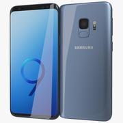 Samsung Galaxy S9 Korallenblau 3d model