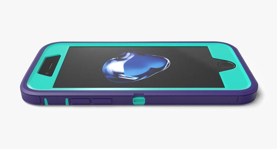 Custodia per iPhone 7 royalty-free 3d model - Preview no. 13