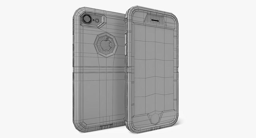 Custodia per iPhone 7 royalty-free 3d model - Preview no. 3