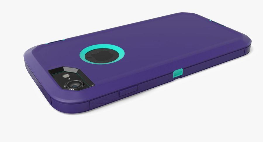 Custodia per iPhone 7 royalty-free 3d model - Preview no. 10