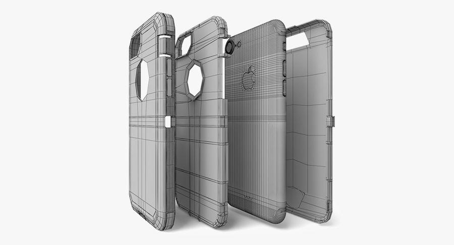 Custodia per iPhone 7 royalty-free 3d model - Preview no. 9