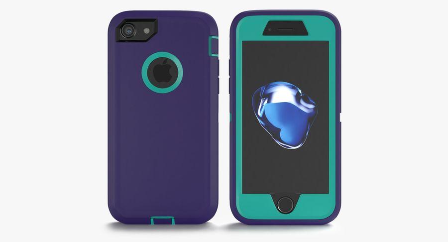 Custodia per iPhone 7 royalty-free 3d model - Preview no. 4