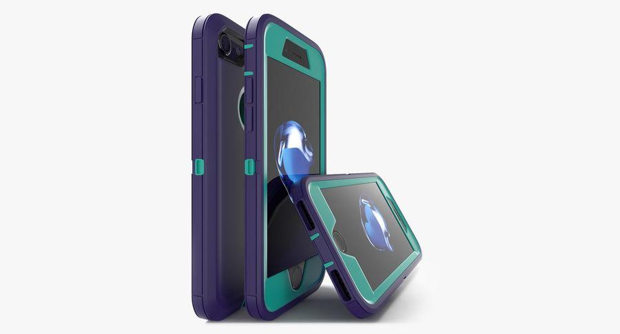 Custodia per iPhone 7 royalty-free 3d model - Preview no. 5