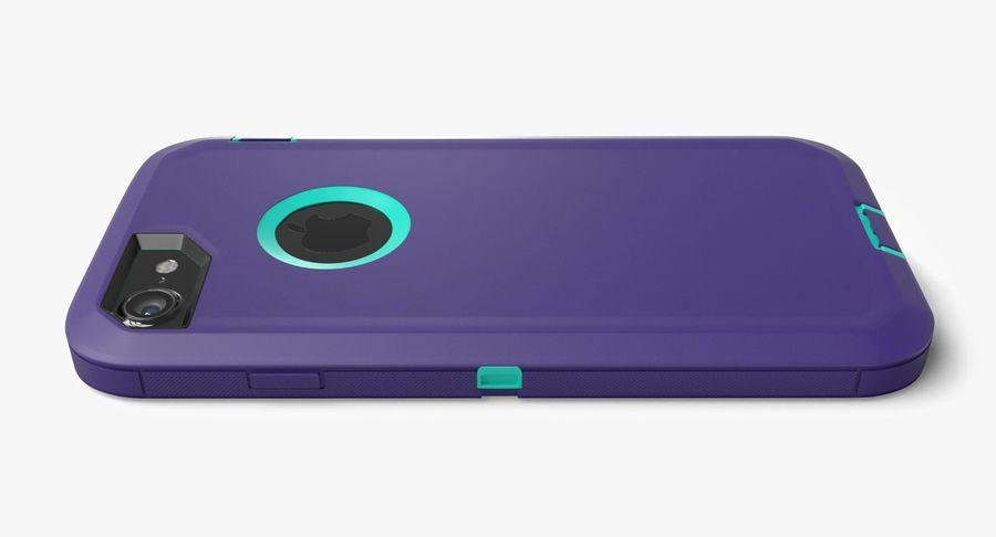Custodia per iPhone 7 royalty-free 3d model - Preview no. 14