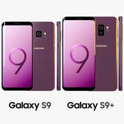 三星Galaxy S9 / S9 +紫丁香紫 3d model