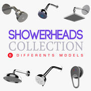 ShowerHeads Accessories Collection 3d model