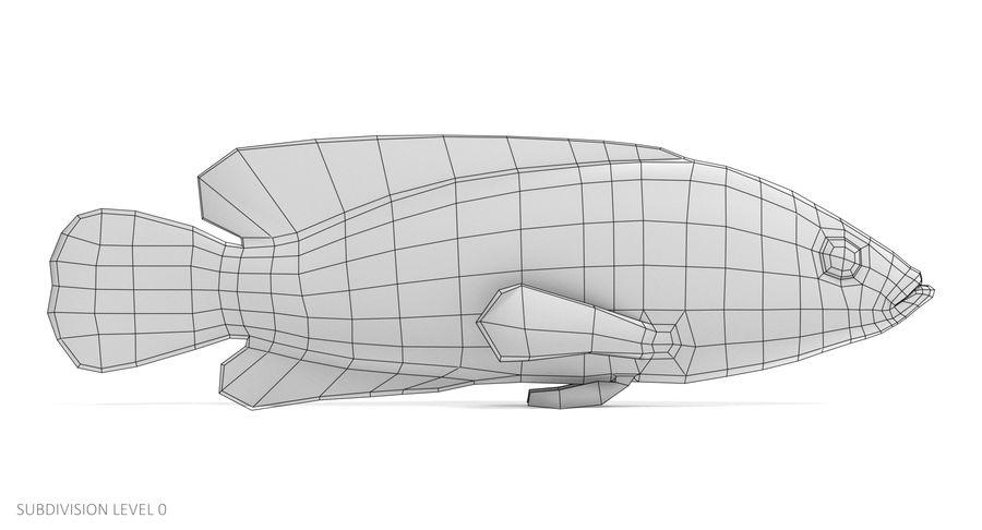 Mercan Gruplayıcı royalty-free 3d model - Preview no. 10