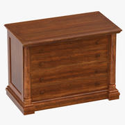 Classical File Cabinet 3d model