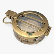 Vieux compas 3d model