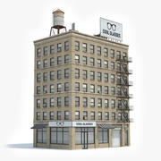 Apartment Building 31 3d model