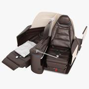 First Class Airplane Chair 05 3d model