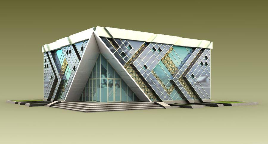 건축가 건물 royalty-free 3d model - Preview no. 3