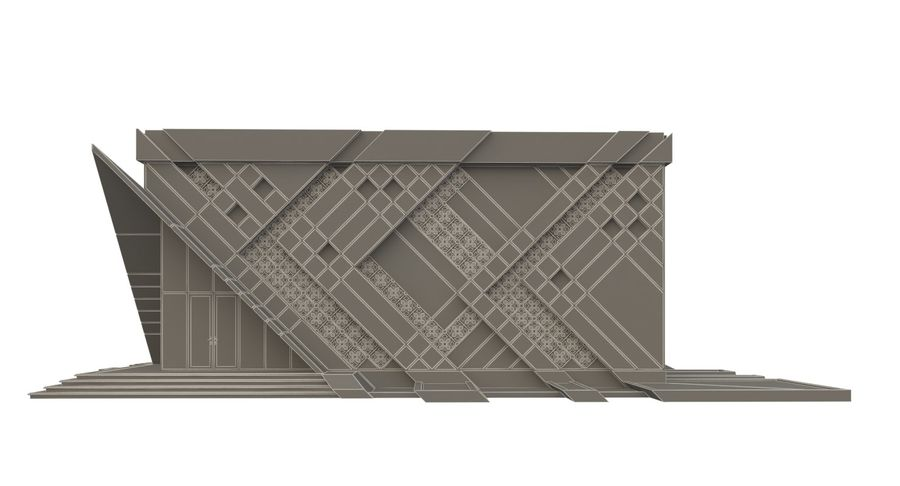 건축가 건물 royalty-free 3d model - Preview no. 8