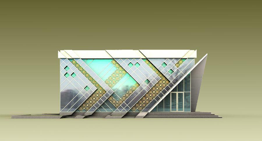 건축가 건물 royalty-free 3d model - Preview no. 5