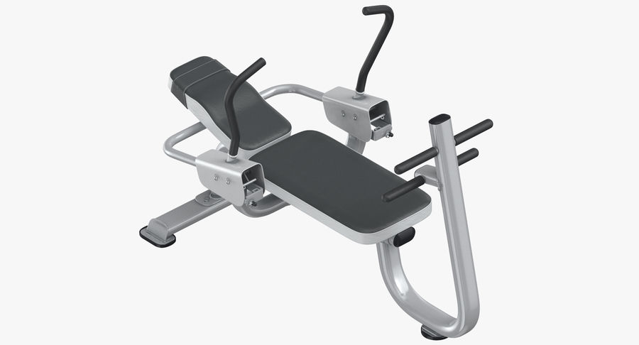 Ab Bench royalty-free 3d model - Preview no. 2