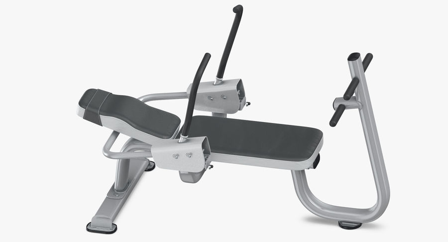 Ab Bench royalty-free 3d model - Preview no. 7