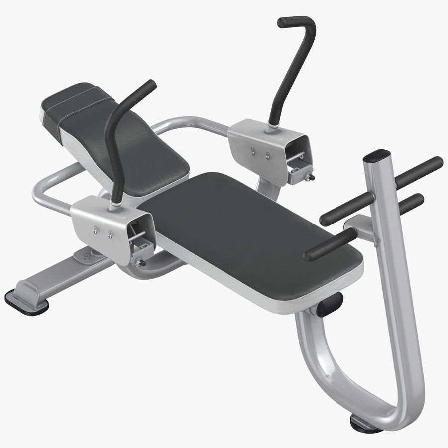 Ab Bench royalty-free 3d model - Preview no. 1