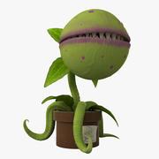 Плотоядное растение 3d model
