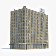 Apartment Building 35 3d model