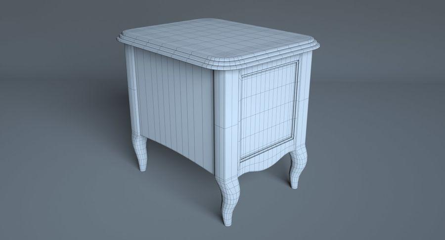 Прикроватный столик royalty-free 3d model - Preview no. 8