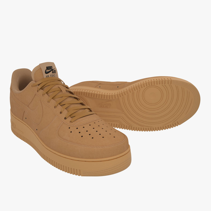 Nike Air Force 1 Low (Lino) Modello 3D $59 - .max .unknown .obj ...