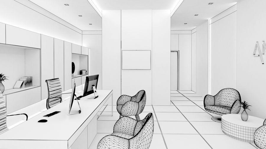 Small Office Interior 3d Model 54 Obj Fbx Max Free3d