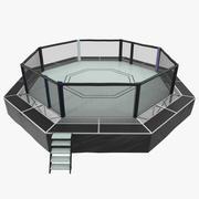 Walczący model Octagon Arena 3D 3d model