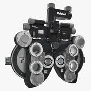 Optisk Phoropter 3d model