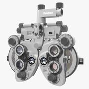 Phoropter Optical View Tester Vision Tester 3d model