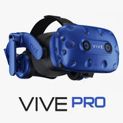 HTC Vive PRO Virtual Reality System 3d model