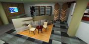 Grote tapijtwinkel 3d model
