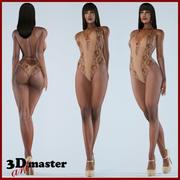 Beauty Woman 14 (Rigged) 3d model