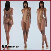 Beauty Woman 14 (Rigged) 3d model