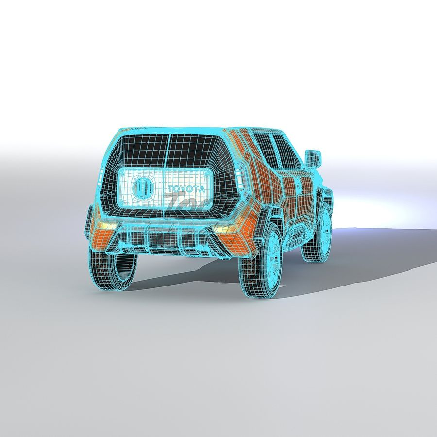 Ft-4X royalty-free 3d model - Preview no. 11