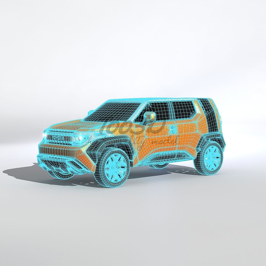 Ft-4X royalty-free 3d model - Preview no. 9