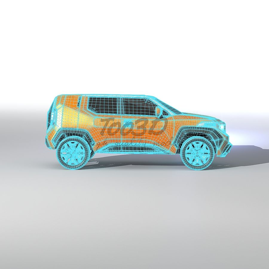 Ft-4X royalty-free 3d model - Preview no. 12