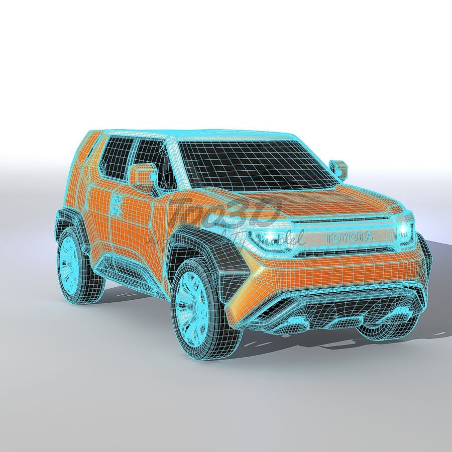 Ft-4X royalty-free 3d model - Preview no. 13