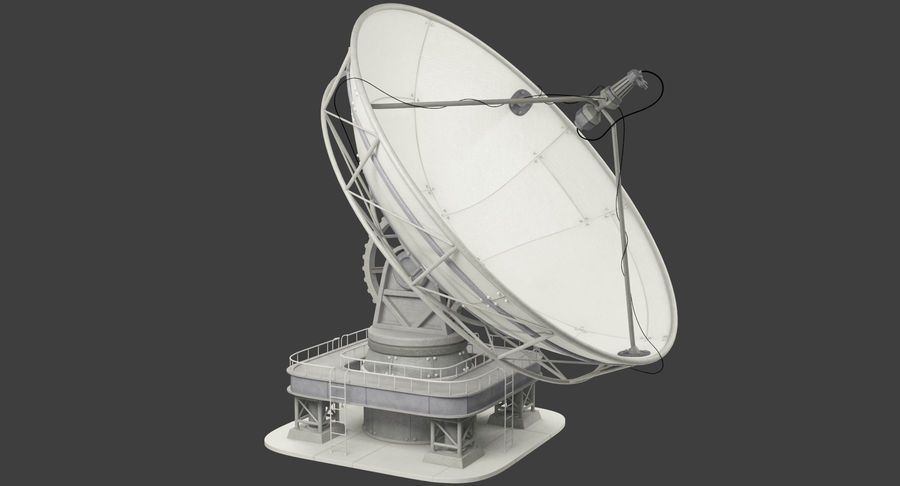 Uydu Antenleri Seti V7 royalty-free 3d model - Preview no. 4