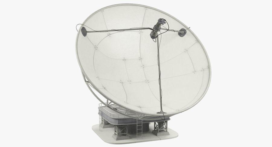 Uydu Antenleri Seti V7 royalty-free 3d model - Preview no. 5