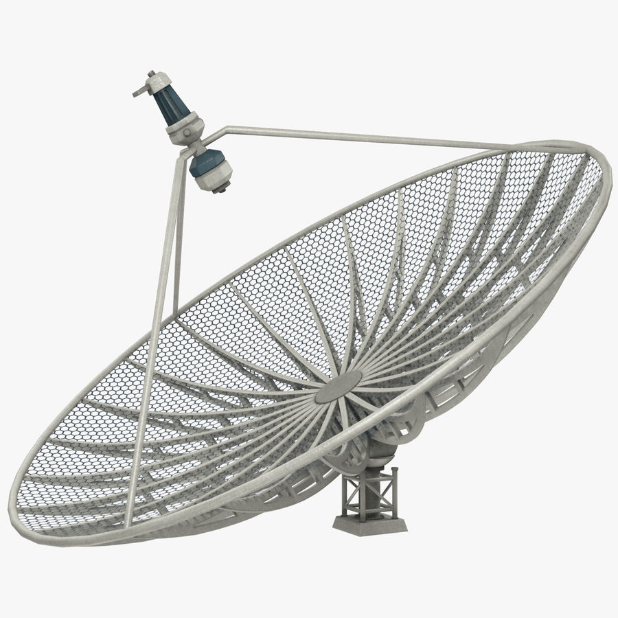 Uydu Antenleri Seti V7 royalty-free 3d model - Preview no. 21
