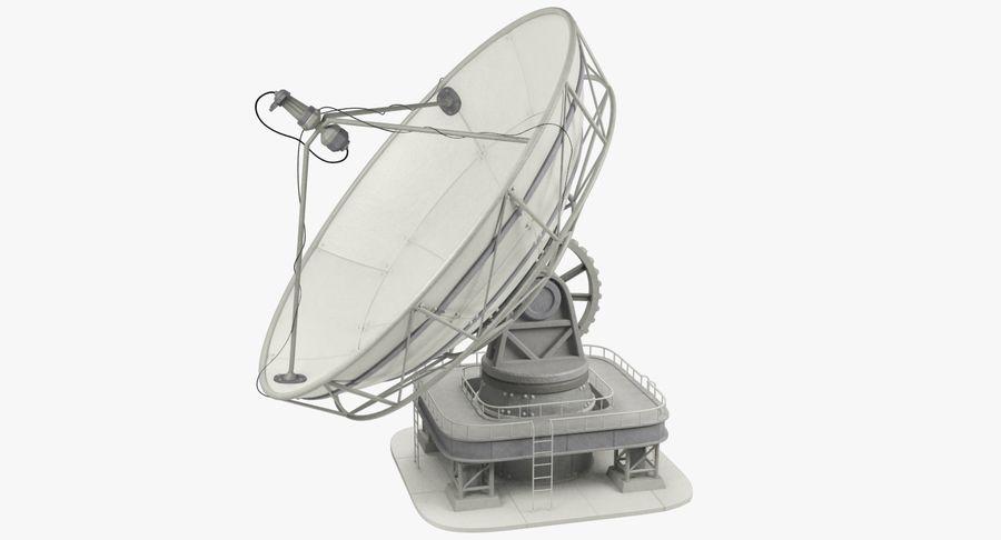 Uydu Antenleri Seti V7 royalty-free 3d model - Preview no. 7