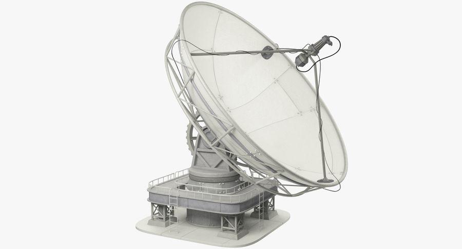 Uydu Antenleri Seti V7 royalty-free 3d model - Preview no. 3