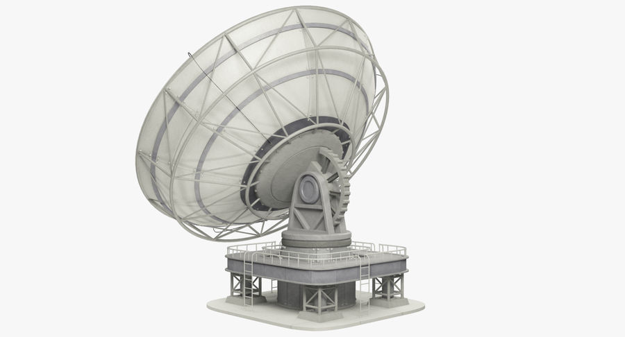 Uydu Antenleri Seti V7 royalty-free 3d model - Preview no. 9