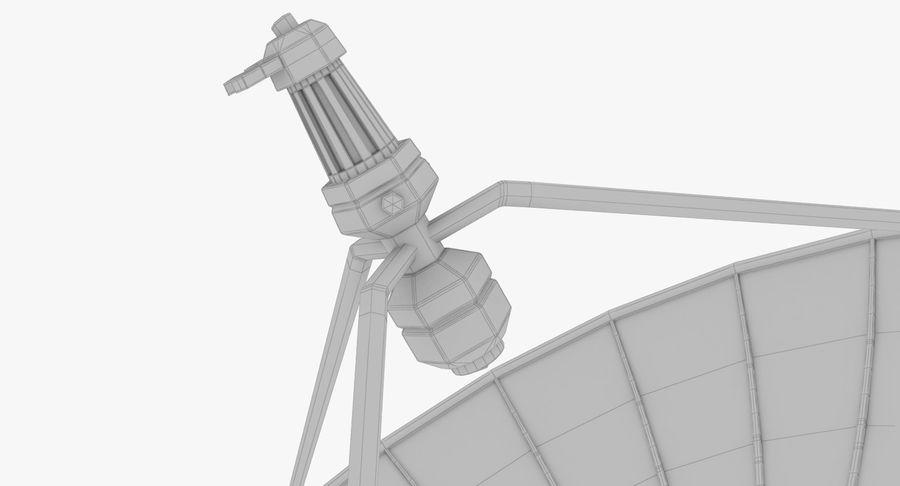 Parabolantenn V7 royalty-free 3d model - Preview no. 34