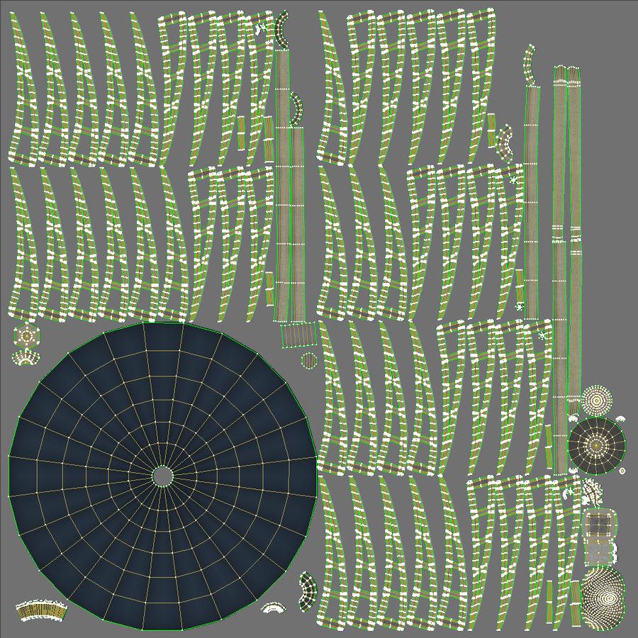 Parabolantenn V7 royalty-free 3d model - Preview no. 35