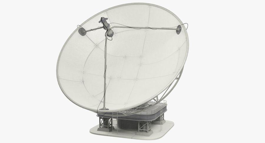 Uydu Antenleri Seti V7 royalty-free 3d model - Preview no. 6